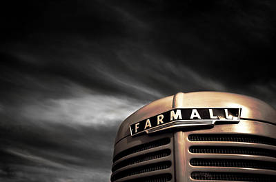 Ir Photograph - Have No Fear - Farmall Is Here by Luke Moore