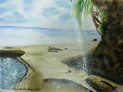 Painting - Have The Tree Have Water by Wanvisa Klawklean