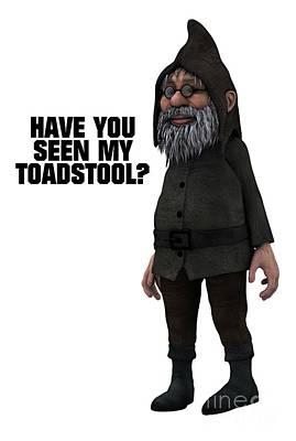 Comics Digital Art - Have You Seen My Toadstool? by Esoterica Art Agency