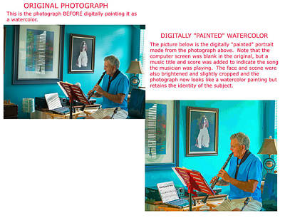 Photograph - Example 3 - Custom Photo-painting by Susan Molnar