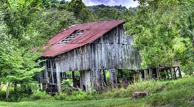 Photograph - Havens Barn On Stacy Fork by Douglas Barnett