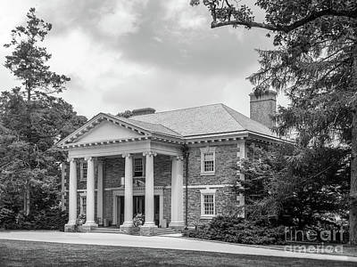 Haverford College Roberts Hall Art Print by University Icons