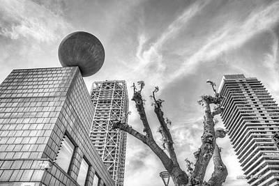 Photograph - Modern Barcelona by Walt  Baker
