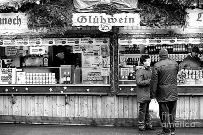 Photograph - Having A Glass Of Gluhwein by John Rizzuto