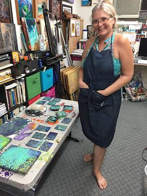 Painting - Having Fun In My Studio by Darice Machel McGuire