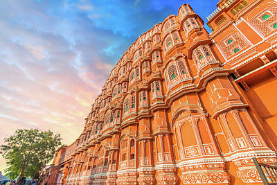 Photograph - Hawa Mahal - Jaipur by Nila Newsom