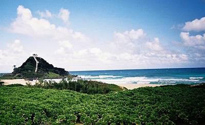 Art Print featuring the photograph Hawaii Beach Scene by Judyann Matthews