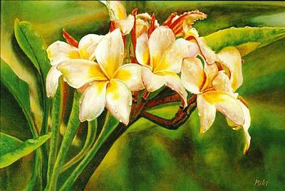 Painting - Hawaii Beauty by Miki Sion