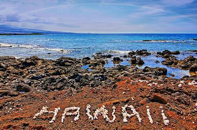 Art Print featuring the photograph Hawaii by DJ Florek