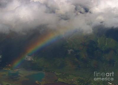 Photograph - Hawaii From Above II by Louise Fahy