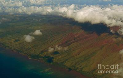 Photograph - Hawaii From Above IIi by Louise Fahy