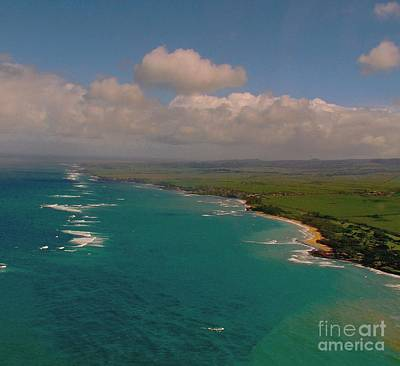 Photograph - Hawaii From Above by Louise Fahy