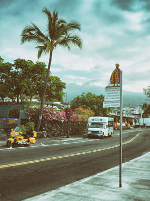 Art Print featuring the photograph Hawaii Ironman Start Point  by Mary Lee Dereske