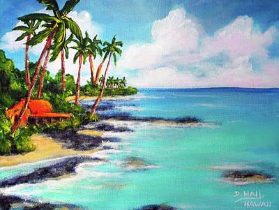 Hawaii North Shore Oahu #472 Art Print by Donald k Hall