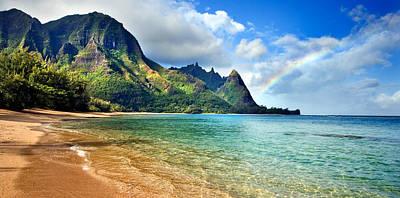 Kauai Photograph - Hawaii Rainbow by Monica and Michael Sweet