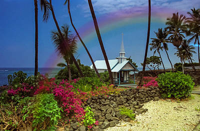 Photograph - Hawaii Rainbow by Randy Sylvia