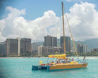 Photograph - Hawaii Snorkeling  by Ray Devlin