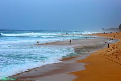 Hawaii - Sunset Beach Original by Michael Rucker