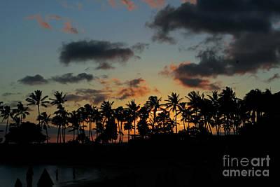 Photograph - Hawaii Sunset by Steven Parker
