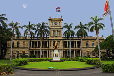 Hawaii Supreme Court Art Print
