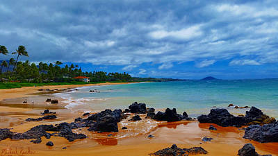 Photograph - Hawaiian Beach Maui by Michael Rucker