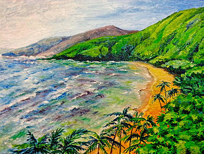 Painting - Hawaiian Beach by Svetlana Nassyrov