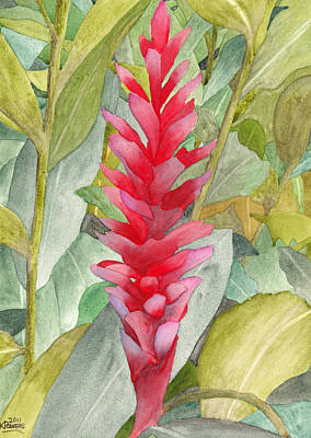 Painting - Hawaiian Beauty by Ken Powers