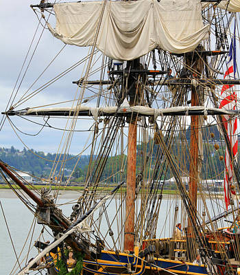 Photograph - Hawaiian Chieftain Rigging by Katie Wing Vigil