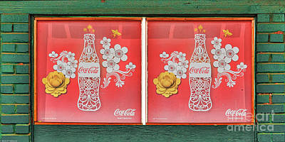 Old Coke Sign Wall Art - Photograph -  Hawaiian Coca-cola Sign by Mitch Shindelbower