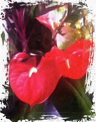 Photograph - Hawaiian Floral Fantasy by Ann Tracy