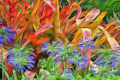 Hawaiian Flowers Art Print by Paige Harre