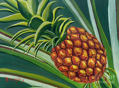 Painting - Hawaiian Gold by Anthony Dunphy