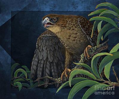 Digital Art - Hawaiian Hawk by Tammy Yee