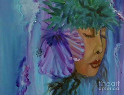 Painting - Hawaiian Hula Iv by Jenny Lee