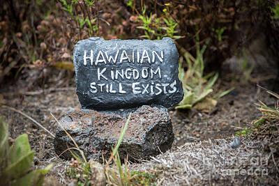 Photograph - Hawaiian Kingdom Still Exists by Daniel Knighton