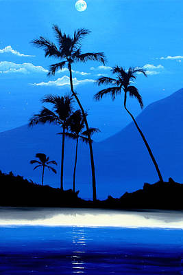 Painting - Hawaiian Moon by Pierre Leclerc Photography