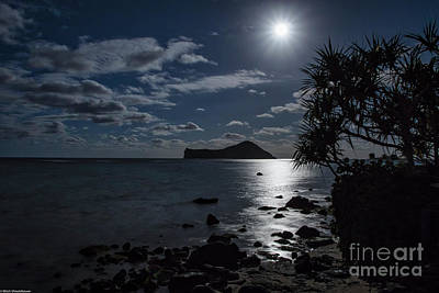 Photograph - Hawaiian Moonshine by Mitch Shindelbower