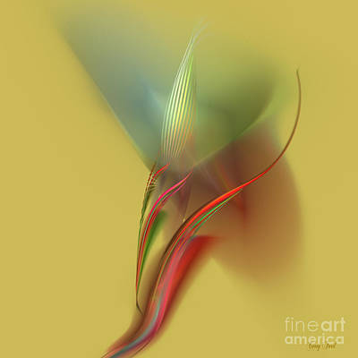 Grow Digital Art - Hawaiian Orchid by Corey Ford
