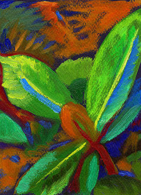 Painting - Hawaiian Plant 2 by Linda Ruiz-Lozito