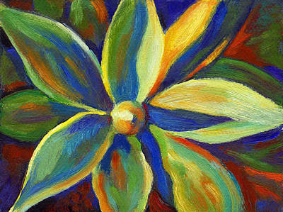 Painting - Hawaiian Plant by Linda Ruiz-Lozito