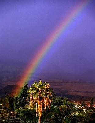 Photograph - Hawaiian Rainbow by Gary Brandes