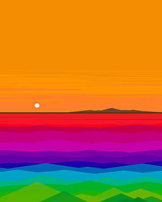 Digital Art - Hawaiian Sea  by Val Arie