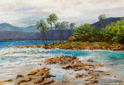 Painting - Hawaiian Shore by Susan Jenkins