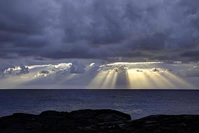 Keaau Photograph - Hawaiian Sunrise by Mike Herdering