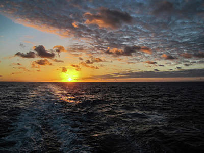 Photograph - Hawaiian Sunset 2 by Bob Slitzan