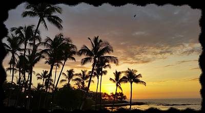 Photograph - Hawaiian Sunset Design by Pamela Walton