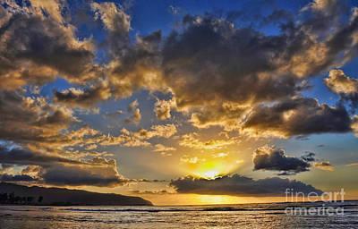 Photograph - Hawaiian Sunset by Gina Savage
