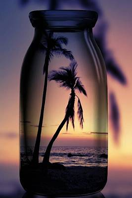 Photograph - Hawaiian Sunset In A Bottle by Pamela Walton