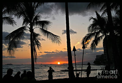 Photograph - Hawaiian Sunset by John Stephens