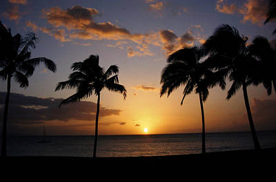 Photograph - Hawaiian Sunset by Kurt Van Wagner